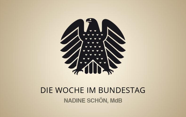 Die Woche im Bundestag – 15.05. – 19.05.17
