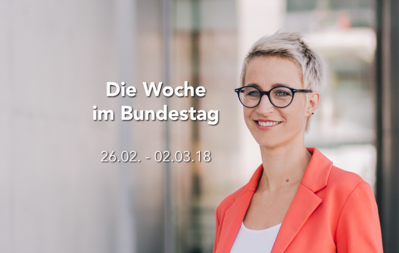 Die Woche im Bundestag – 26.02. – 02.03.18