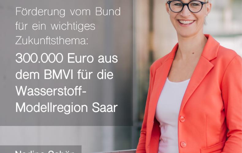 300.000 Euro für die Wasserstoff-Modellregion Saar