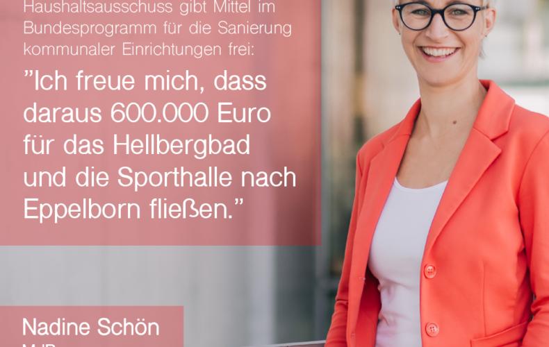 600.000,- Euro vom Bund für Eppelborn